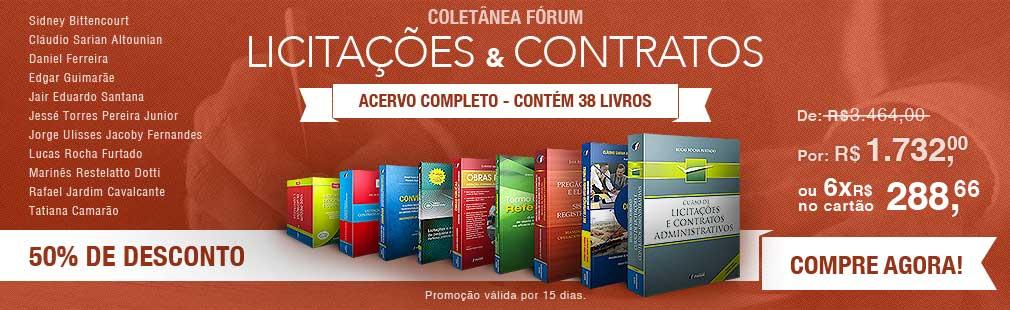 COLET�NEA ESPECIAL F�RUM DE LICITA��ES E CONTRATOS
