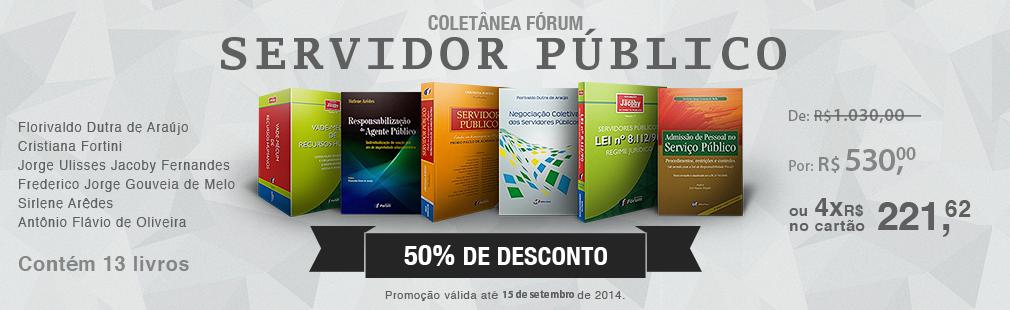 COLE��O ESPECIAL FORUM DE SERVIDOR P�BLICO