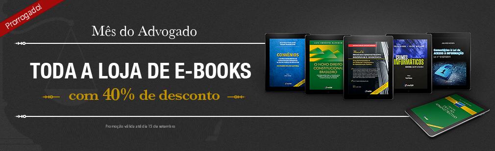 M�s do Advogado - Todos os eBooks com at� 40% de Desconto