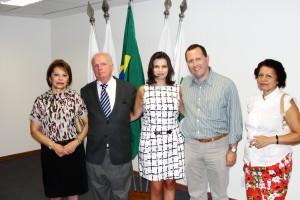 Dr. Roberto Rogério com sua família
