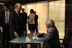 Ministro Emérito do TCU Luciano Brandão e Ministro Ubiratan Aguiar