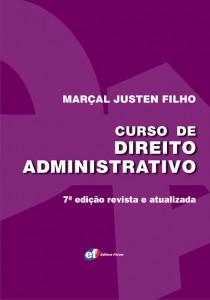 Curso de Direito Administrativo de Marçal Justen Filho já está a venda na livraria virtual