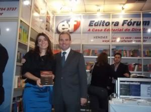 Luis Cláudio Rodrigues Ferreira – Presidente e Editor da Editora Fórum e Cristiana Fortini – Presidente do Instituto Mineiro de Direito Administrativo