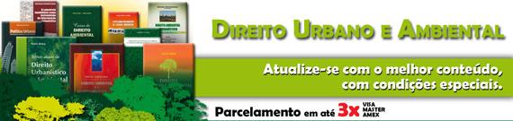 Fique de olho! Promoção Direito Urbano e Ambiental na Editora Fórum
