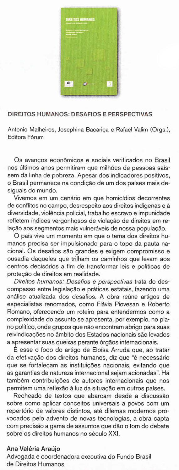 Direitos Humanos - Editora Fórum
