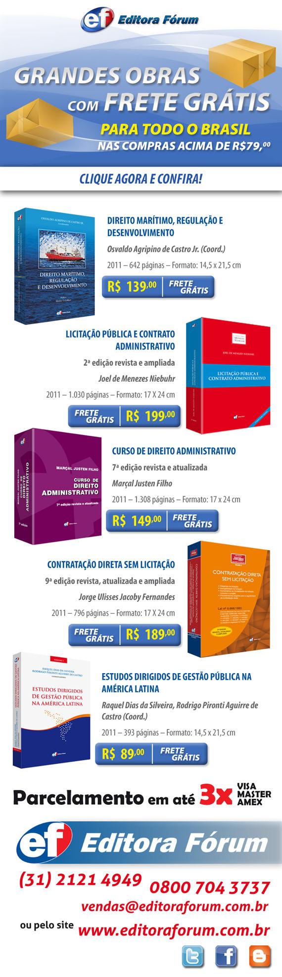 Promoção Frete Grátis para todo Brasil nas compras acima de R$79,00