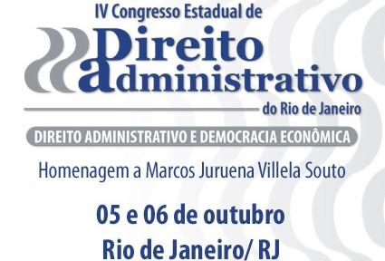 IV Congresso Estadual de Direito Administrativo do Rio de Janeiro
