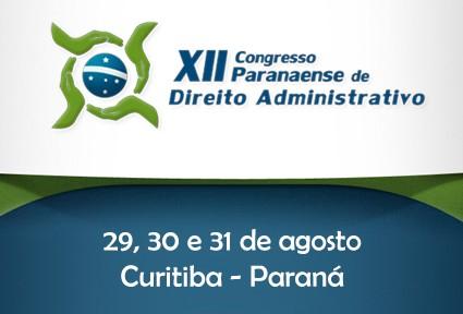 XII Congresso Paranaense de Direito Administrativo