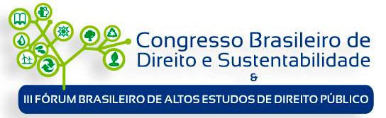 Congresso Brasileiro de Direito e Sustentabilidade