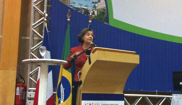 Ministra Carmén Lúcia irá falar sobre sobre Políticas Públicas, Ética e o Judiciário