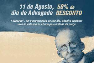 Bienal de SP: Ganhe 50% de desconto no Dia do Advogado