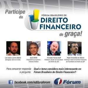 Promoção Fórum Brasileiro de Direito Financeiro