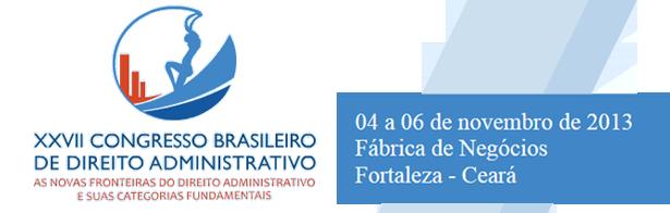 XXVII Congresso Brasileiro de Direito Administrativo