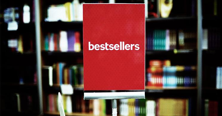 50 livros mais vendidos do ano com até 30% de desconto
