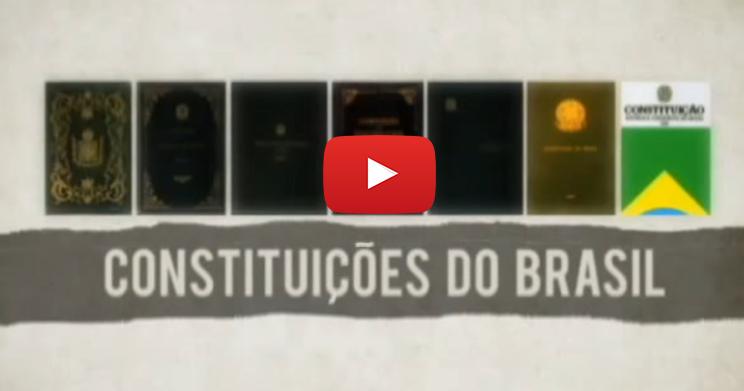 Conheça a história das Constituições do Brasil