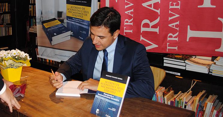 Livro 'Acordo de Acionistas e seus Mecanismos de Liquidez' é lançado no Rio de Janeiro
