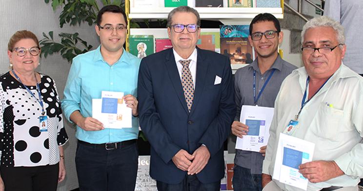 Fórum e TCE Ceará premiam servidores que mais acessaram a Plataforma de Conhecimento Jurídico