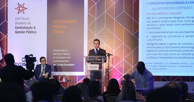 Imagem do Fórum Brasileiro de Contratação e Gestão Pública 2019