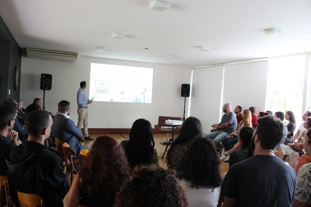 Apresentação do Ouvidor Digital no lançamento do Programa de Compliance FÓRUM