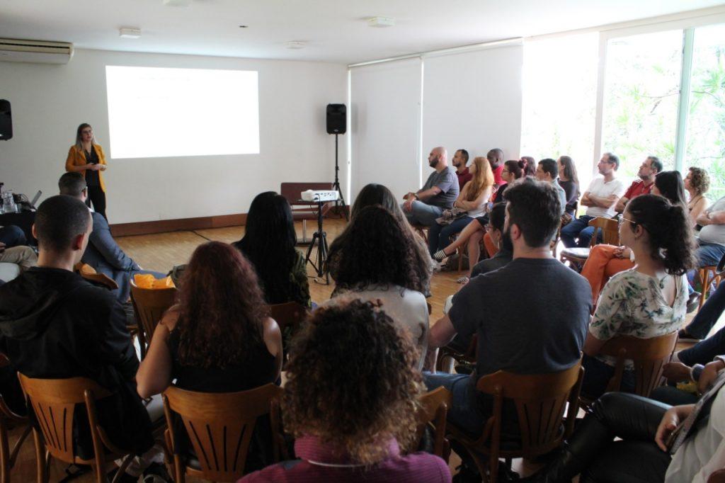 Edilaine no lançamento do Programa de Compliance FÓRUM