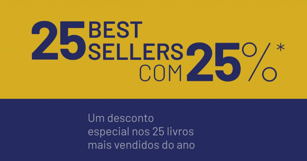 Best-sellers FÓRUM: 25 livros com 25% de desconto